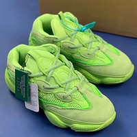 Trendsetter Kanye West x Adidas Yeezy 500 Women Men Fashion Casual Retro Shoes