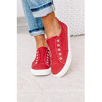 Babalu Canvas Sneakers | Red