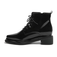Pointed Toe Ankle Boots   STYLENANDA