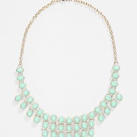 BP. Oval Stone Statement Necklace (Juniors)   Nordstrom