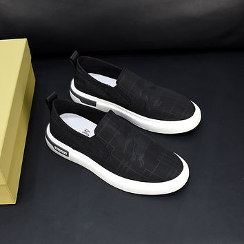 Burberry 2021Men Fashion Boots fashionable Casual leather Breathable Sneakers Running Shoes09190cx