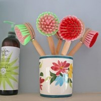 Recycled Washing Up Brushes, Kitchenware from Berry Red