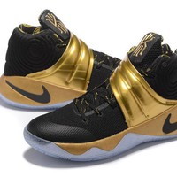Nike Kyrie Irving 2 Black/Gold Basketball Shoe