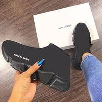 Balenciaga Woman Men Boots Fashion Breathable Sneakers Running Shoes-24