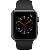 Apple Watch Series 3 Smartwatch - Space Gray/Black - 42mm (MQK22LL/A)