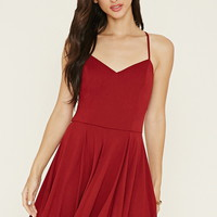 Crisscross Cami Mini Dress