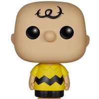 Funko Pop! Peanuts: Charlie Brown Figure Yellow One Size For Women 27908860001
