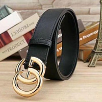 2017 GUCCI BRAND BELT MEN WOMEN'S WAISTBAND + BOX
