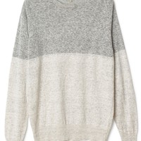 Coil block knit sweater | Sweaters | Weekday.com