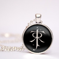 Lord of the Rings Inspired Tolkie pendent necklace