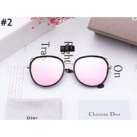 Dior 2019 new female personality cat ears large frame polarized sunglasses #2