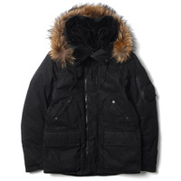 Trooper Down Jacket - Cotton Weather Cloth with WINDSTOPPER® 2L
