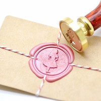 Alice in the Wonderland B20 Gold Plated Wax Seal Stamp x 1