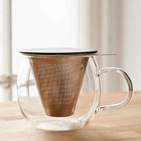 Brew-In-A-Cup Tea Infuser And Mug
