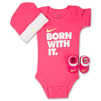 Girls' Infant Nike Born With It 3-Piece Set