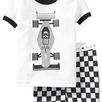 Old Navy Racecar Graphic PJ Sets For Baby