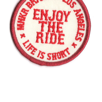 Enjoy The Ride Patch