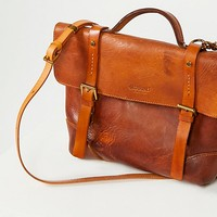 Brookside Leather Messenger