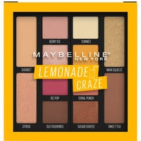 Lemonade Craze Eyeshadow Palette, 12 Shade Eyeshadow Palette - Maybelline