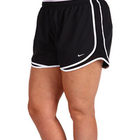 Nike Extended Sizing Tempo Track Short Black/Black/White/(White) - Zappos.com Free Shipping BOTH Ways