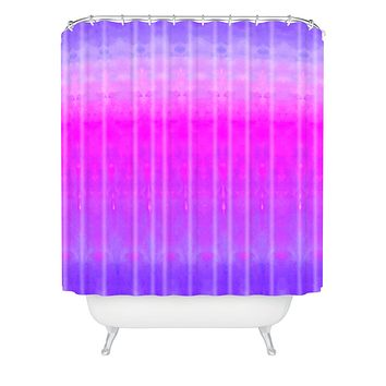 Rebecca Allen Safely Softly Sweetly Shower Curtain