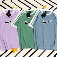 Fresh Color NIKE T-Shirt Top Tee B-MG-FSSH Four Color