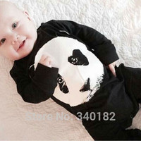 carters baby clothing baby boy clothes baby girl  panda long sleeve baby Romper climbing bebe clothes set newborn