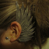 Miao Ear Cuff - Feathered Wings