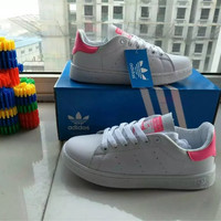 """Adidas"" Fashion Casual Sneakers Plate Shoes ""STAN SMITH"" Small White Shoes Women Running Shoes"