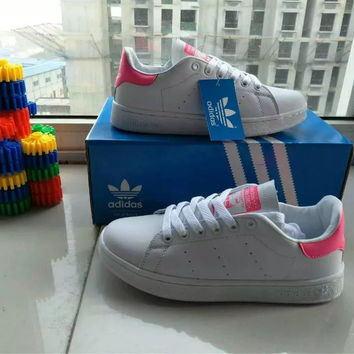 """""""Adidas"""" Fashion Casual Sneakers Plate Shoes """"STAN SMITH"""" Small White Shoes Women Running Shoes"""