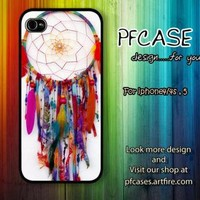 Dreamcatcher color style Case For Iphone 44s 5 Samsung S2S3S4 by pfcase on Zibbet
