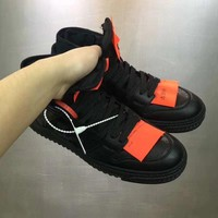 OFF-WHITE 2018 NEW DESIGN Black Shoes