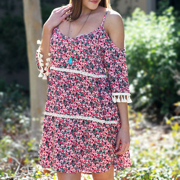 Wide Open Spaces Floral Dress