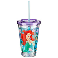 Disney The Little Mermaid Ariel Tumbler With Straw -- Small | Disney Store