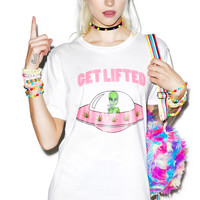 Bang-On Get Lifted Tee White