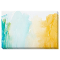 Strokes of Color Oversized Gallery Wrapped Canvas