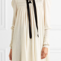 Philosophy di Lorenzo Serafini - Lace-up knitted dress