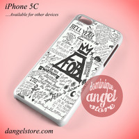 Fall Out Boy Quotes 2 Phone case for iPhone 5C and another iPhone devices