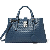 Bottega Veneta - Roma small intrecciato leather tote