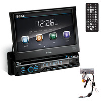 "Boss 7"" Touchscreen DVD-CD-MP3 Car Audio Stereo Receiver AM-FM Radio"