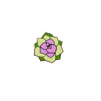 Adorable Succulent Pin