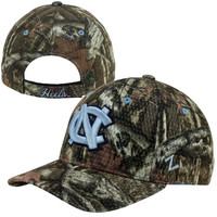 Zephyr North Carolina Tar Heels :UNC: Full Draw Adjustable Hat - Camo