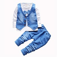Boy clothes fashion baby boy clothing sets kids clothes pants suit for children kid clothes suit baby clothing set