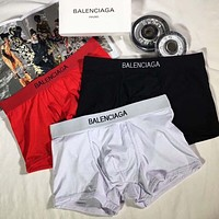 Balenciaga Men Briefs Shorts Underpants Male Cotton Underwear