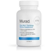 MURAD ACNE - Pure Skin Clarifying Dietary Supplement, 120 Cnt.