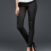 1969 Leather Pull On Legging Jean