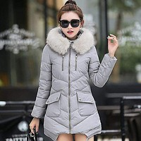 Winter Warm Down Cotton Jacket For Women