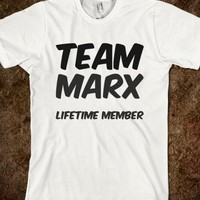 TEAM MARX LIFETIME MEMBER T SHIRT
