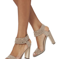 Veto Studded Suede Sandals