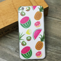 Pineapple Watermelon Fruit Case for iPhone